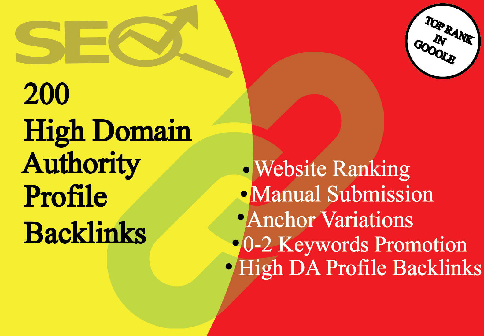 I Will Create 200 Manually High Quality Profile Backlink With High DA Sites For SEO Ranking