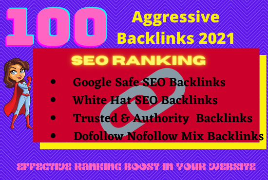 I will create 100 high quality profile backlinks with high DA& PA