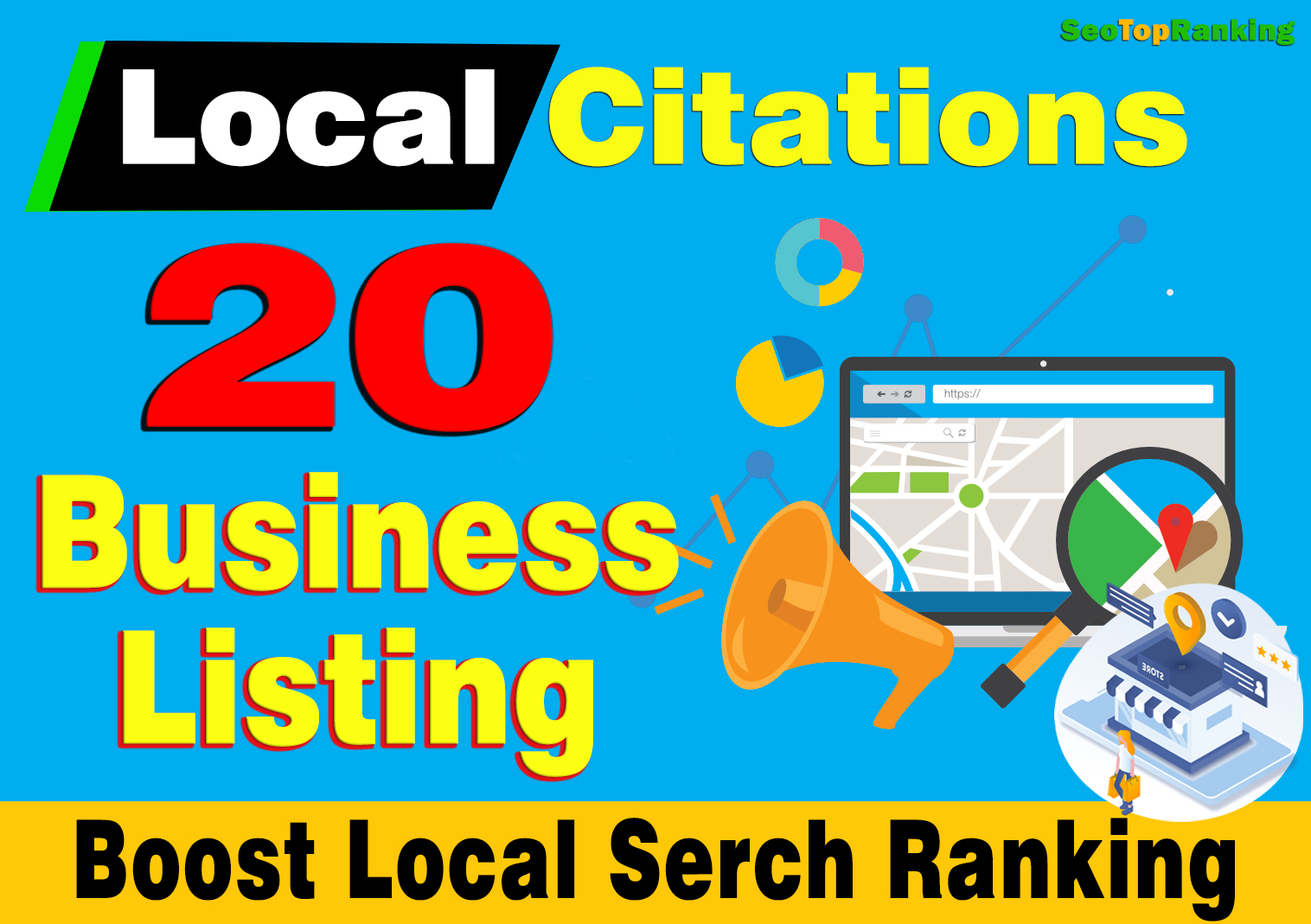 20 SEO-Friendly Directory Submission or Business Listing for any Country