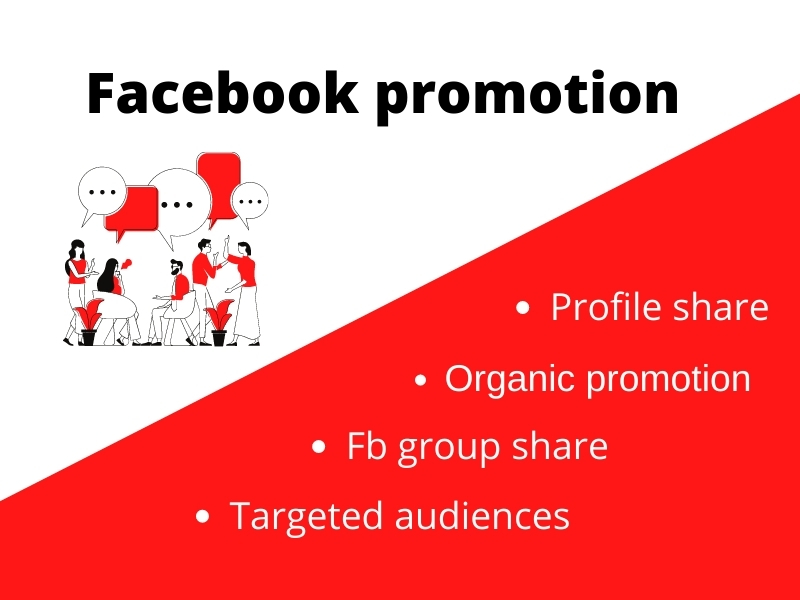 Promote your business or product through facebook