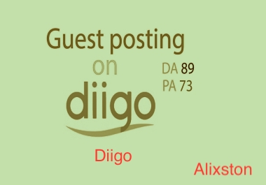 Buy one get one free with Guest Post Backlinks on Diggo. com 70 ps