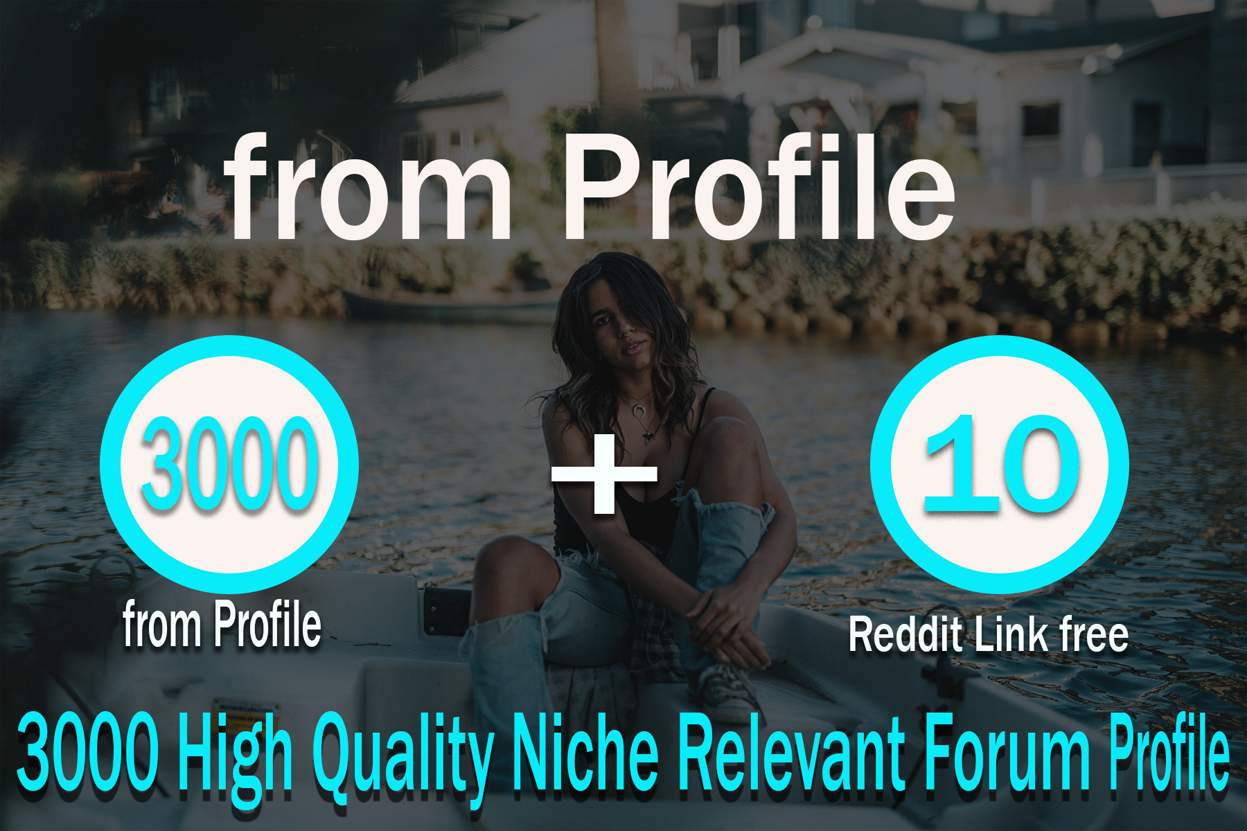 3000+ HQ Forum Profile 10 reddit links free Backlinks High PA DA Sites