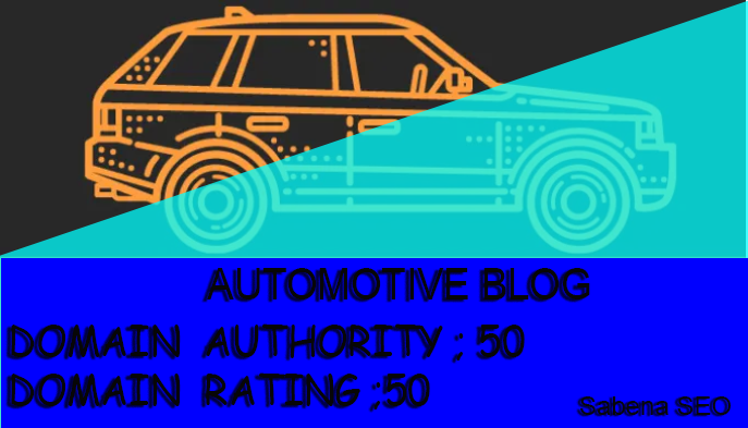 I will live car article on car blog guest post contextual seo backlinks