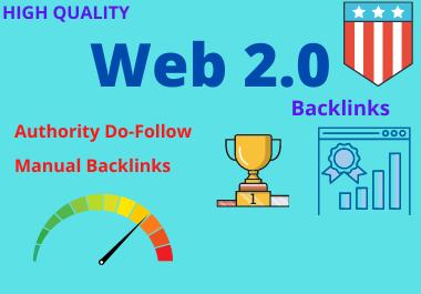 Manually Build 20 high Authority WEB2.0 Backlinks