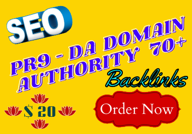 I Will Do Manually Create PR9 - DA Domain Authority 70+