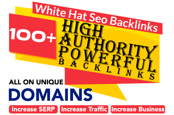 I will create high DR 60 plus permanent white hat dofollow SEO backlinks