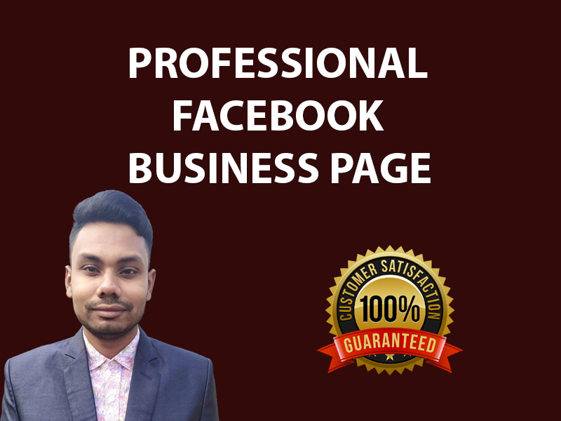 I will create and develop facebook business page