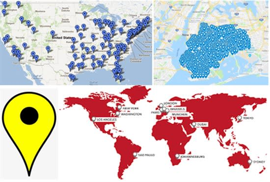 I will do 1000 google map pin point for gmb map ranking