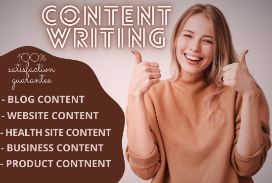 I will Write amazing SEO Content that sells