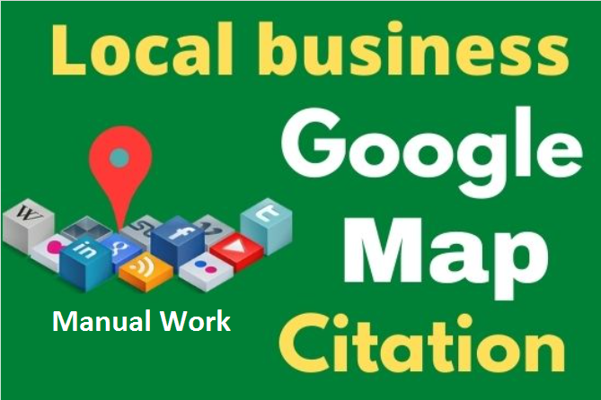 150 Google maps citation to rank your google business page, local citation,  directory