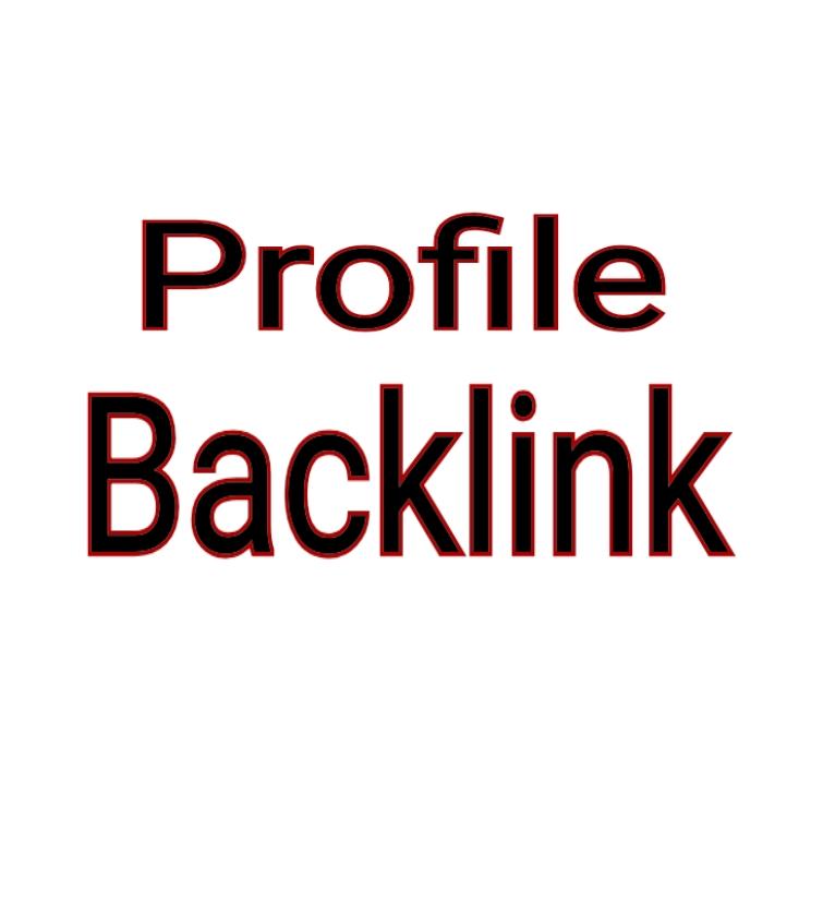 High Quality 100 Profile Backlink DA 80+ PR 9-7