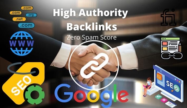 I will do high authority profile backlinks