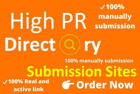 I Will Provide Manually 150 High Quality Directory Submission