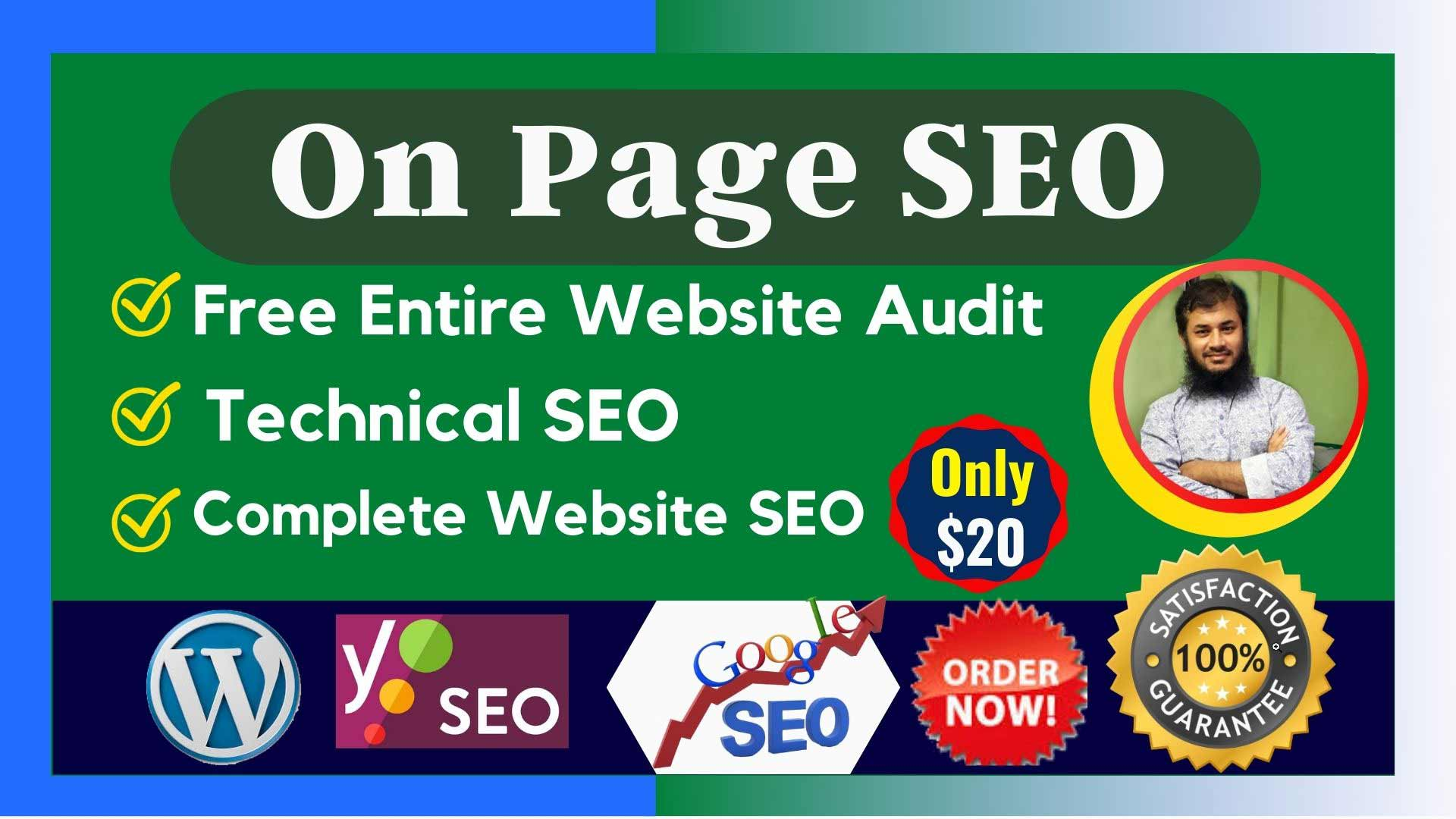 Advance Technical On Page SEO for Best Google Ranking