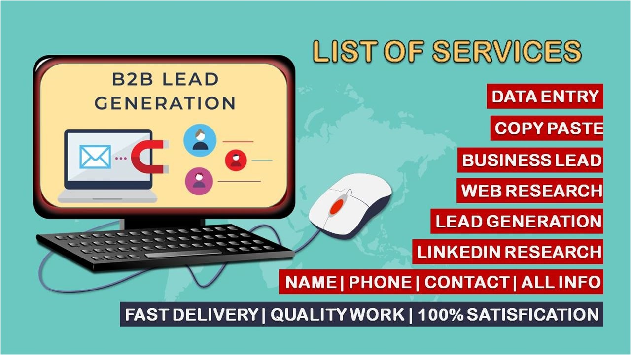I will do B2B LinkedIn Lead Generation and Build Targeted Email List