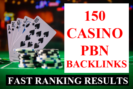 150 casino pbn backlinks Poker casino gambling SEO dofollow link building for fast ranking