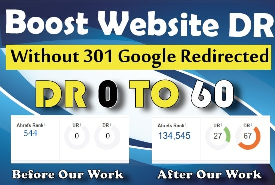 I Increase Domain Rating Ahref DR 0 to 60 Plus In 30 Days - SAFE SEO Link Building