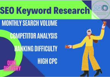 Do 50 SEO Keyword Research for your Niche or websites