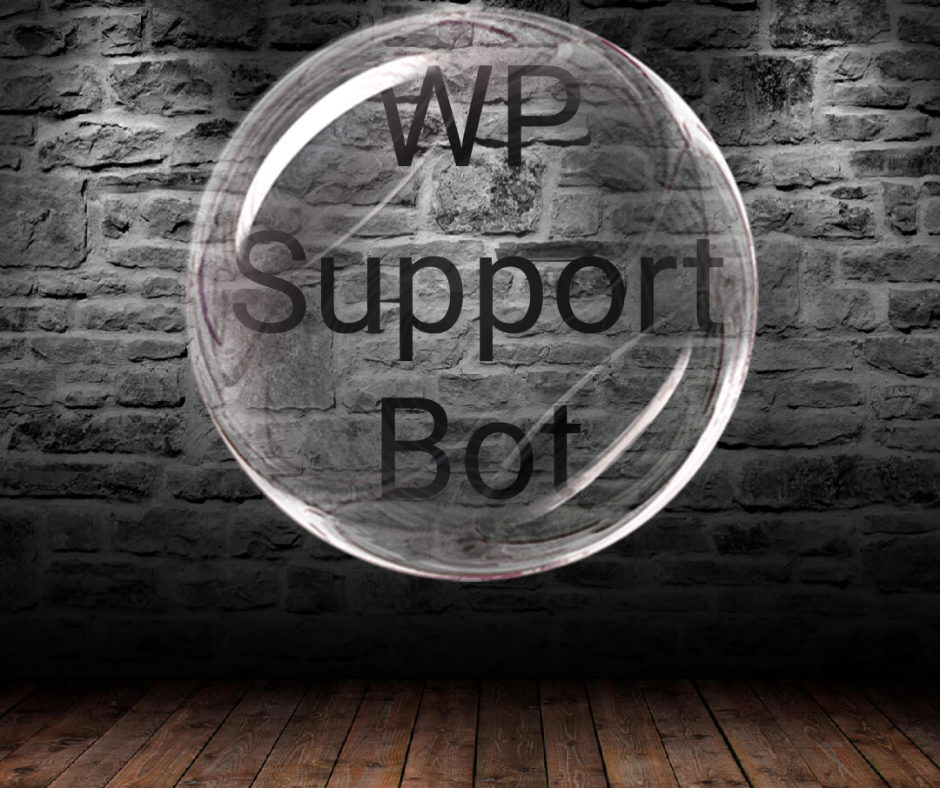 Word press support bot offering visitors to your wardpress 27/7 live chat support