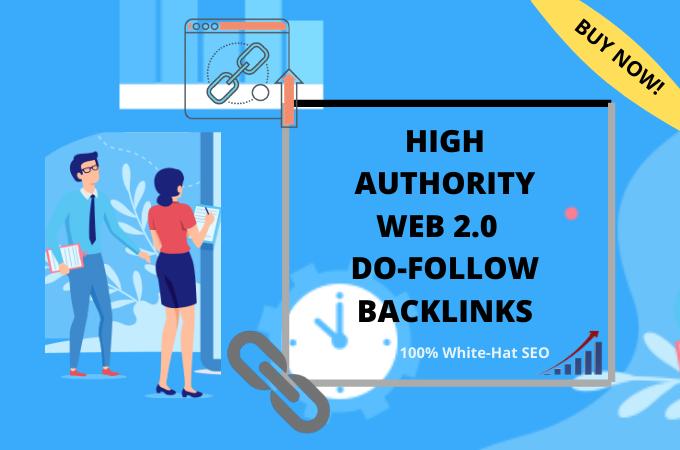 I will provide 5 web 2.0 high quality dofollow backlinks