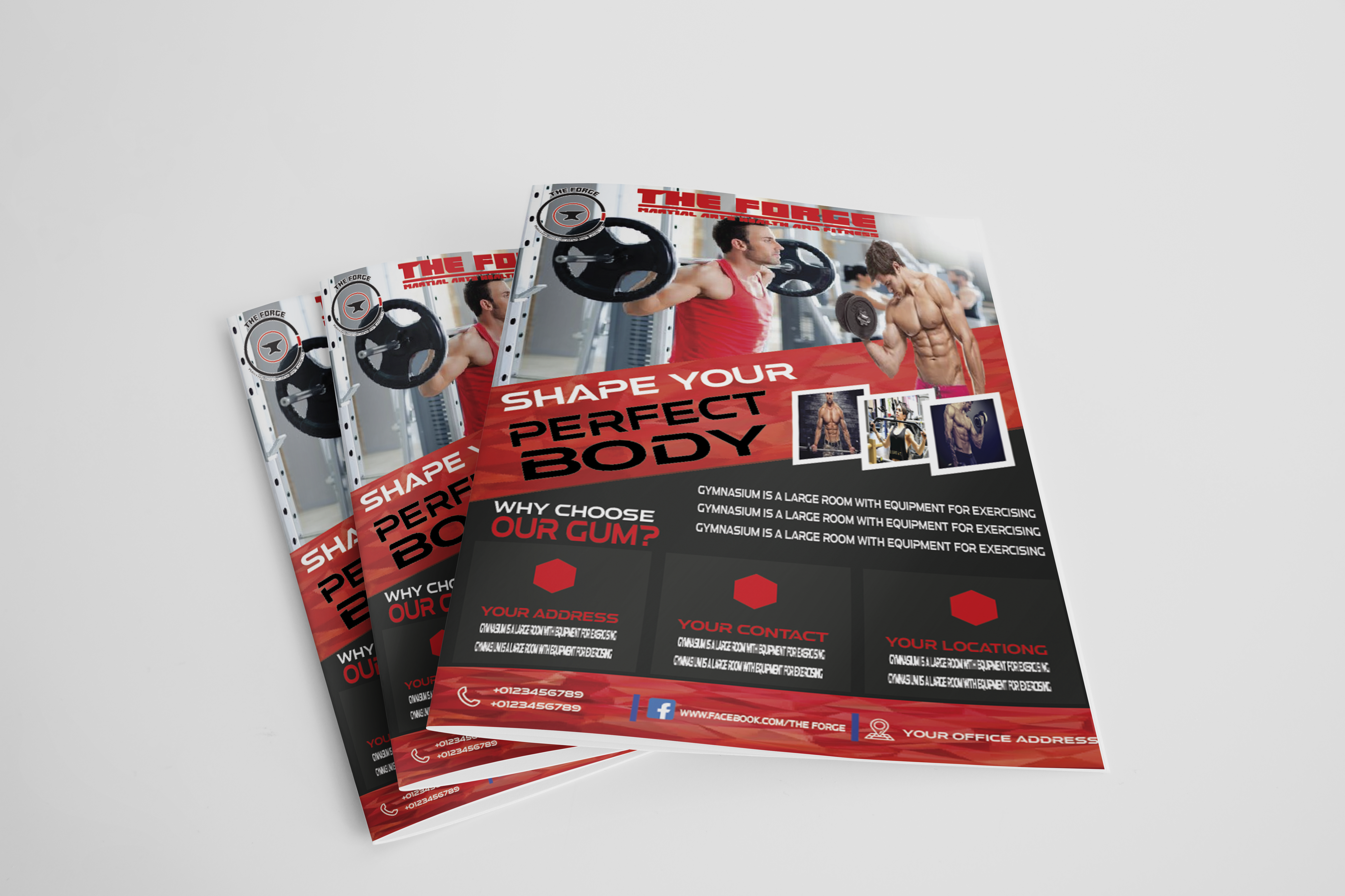 I will design flyer,  letterhead,  brochure and stationery items