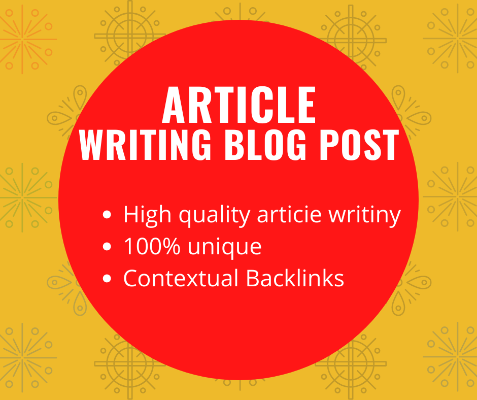 I will write 500+ words article writing for your website.