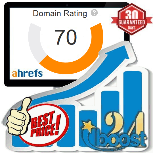 Increase your Domain Rating DA 7 to 30+ PA 7 to 30+ SEO Backlink