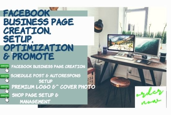 I will Create & Setup Facebook business page