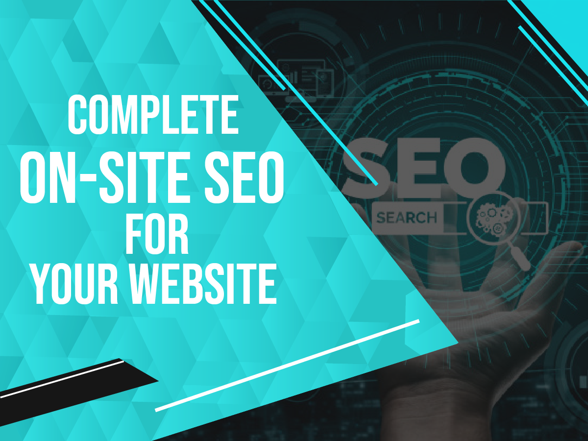 Complete on-site seo optimization for your website