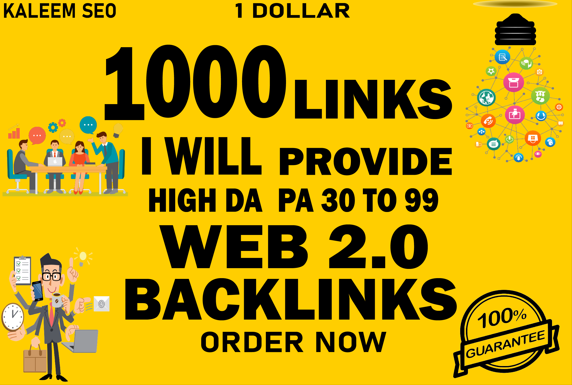 I will build 300 web 2.0 backlinks for you