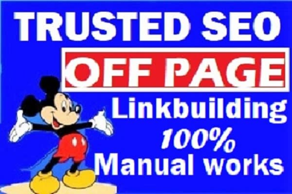 I will improve ranking for trusted backlinks off page seo link building