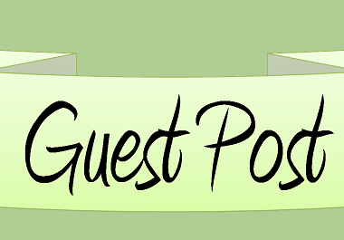 Write and publish 8 niche guest post on high authority sites