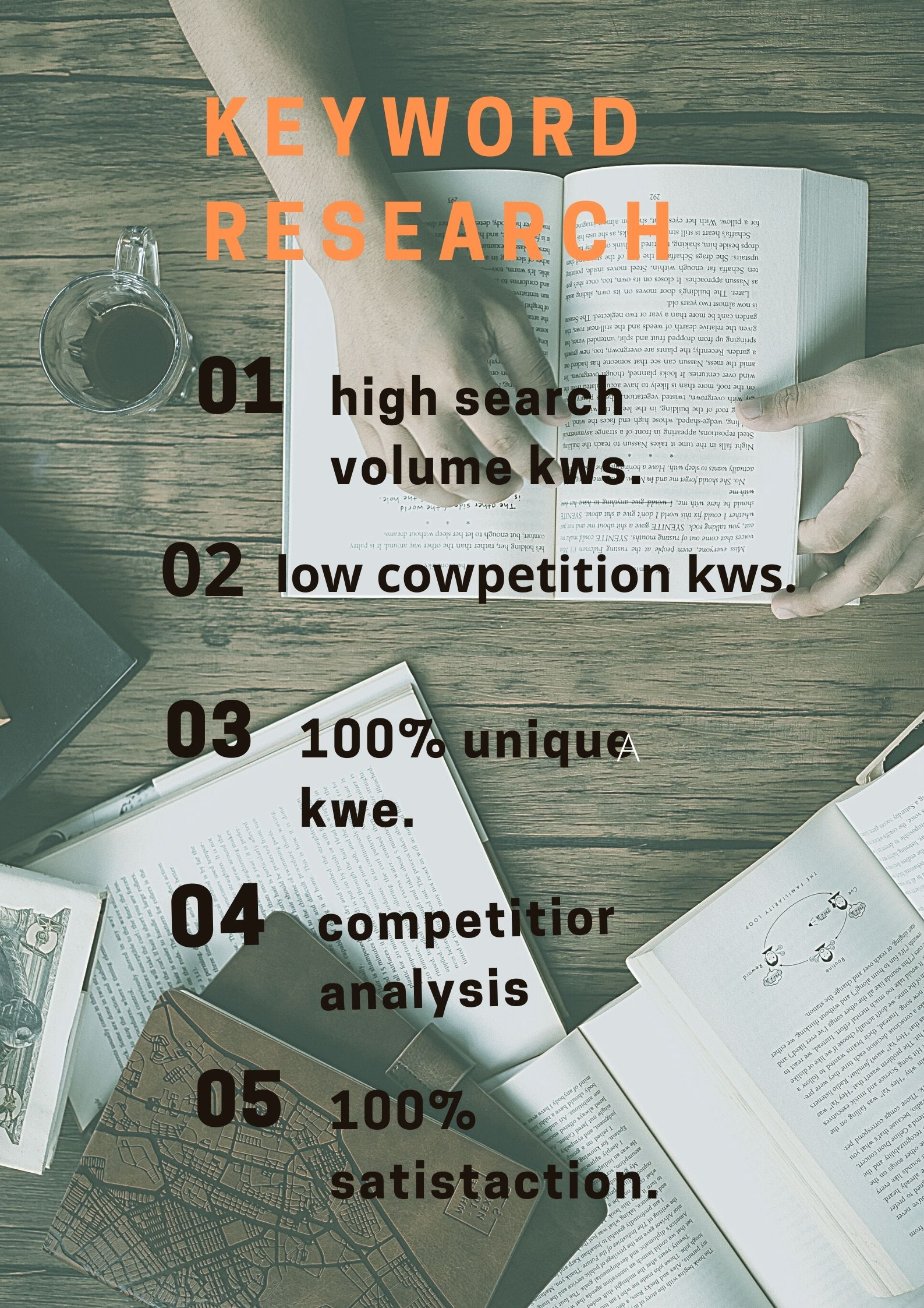I will produce a SEO keyword research rundown to rank your site quick.