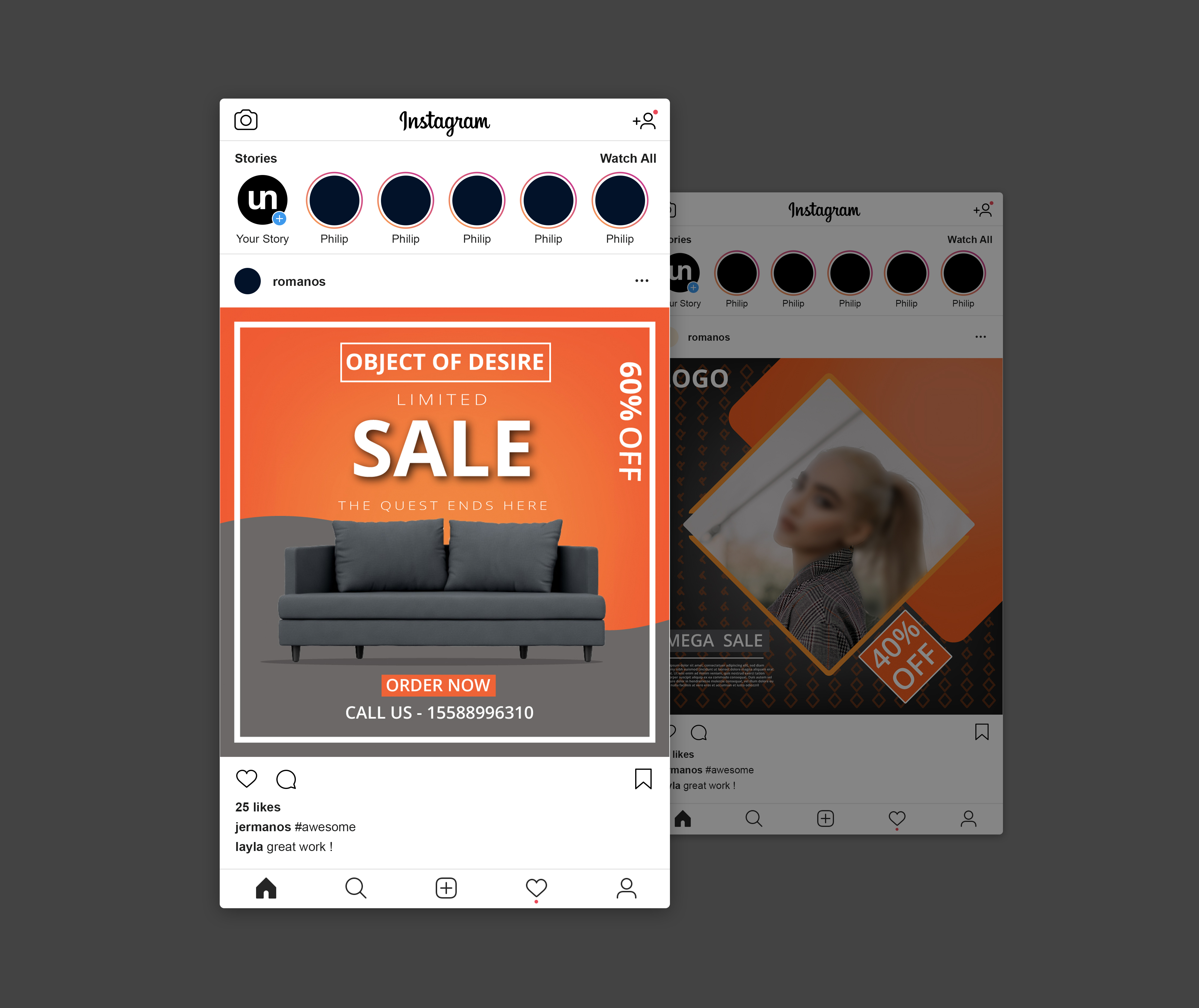 I will design unique social media posts for your product advertisement