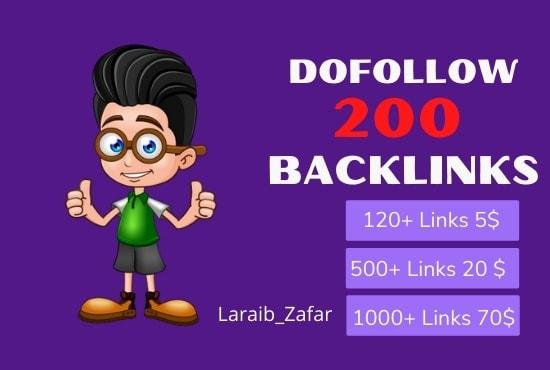 I will build 200 dofollow blog comment backlinks