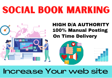 20 Social Bookmarking Low spam score high authority link building Natural permanent Backlinks