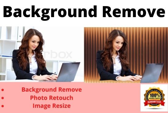 I will professionally remove 100 Image background