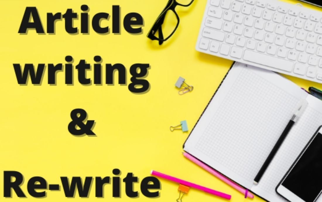 Write and Re-write a unique article of 700 words as your choice
