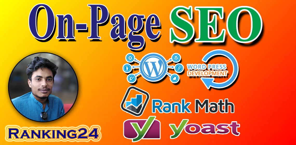 I will do optimize your wordpress website onpage SEO with yoast,  rankmath