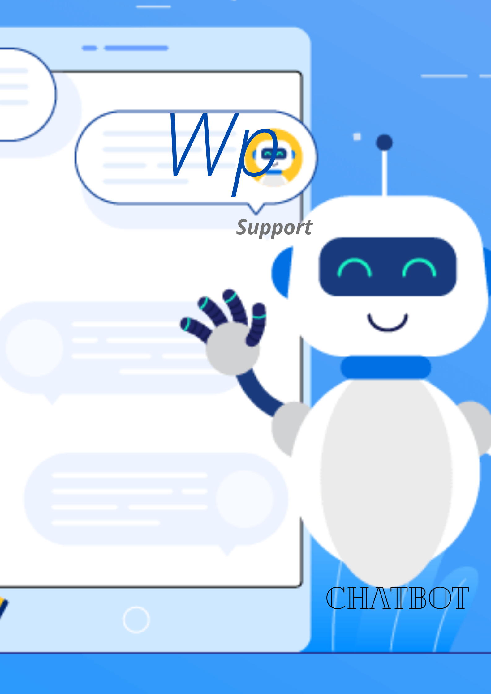chatbot support supports wordpress