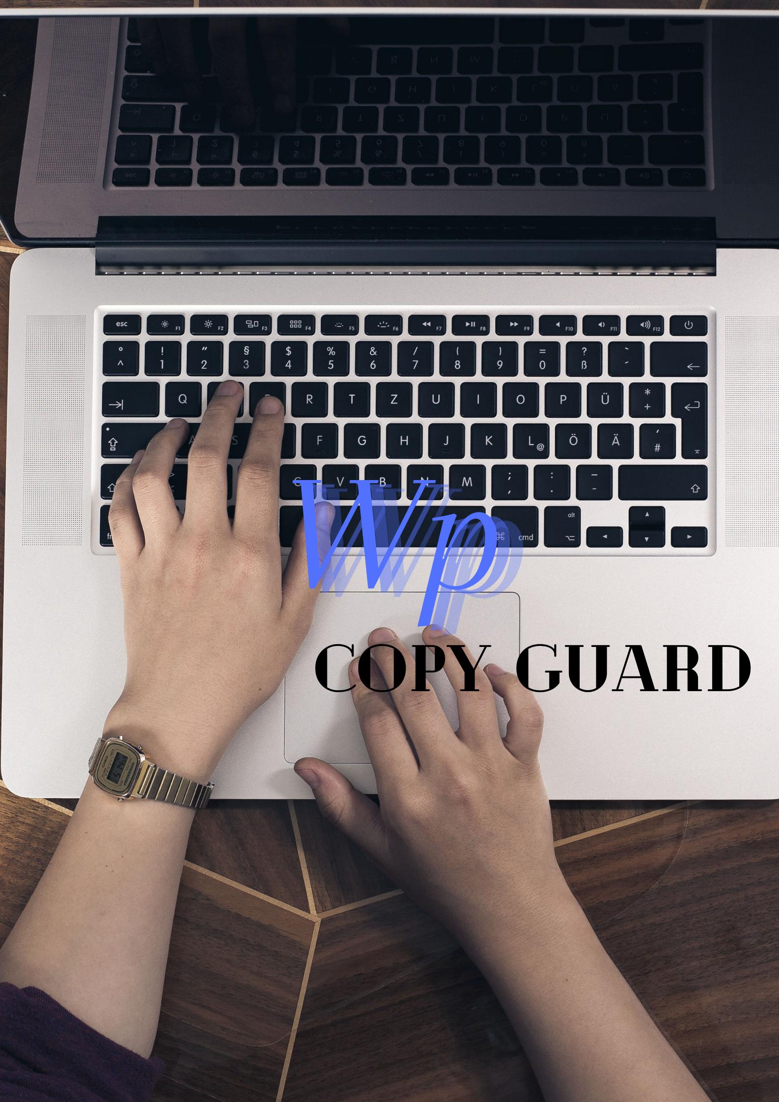 blog copy guard for WordPress.