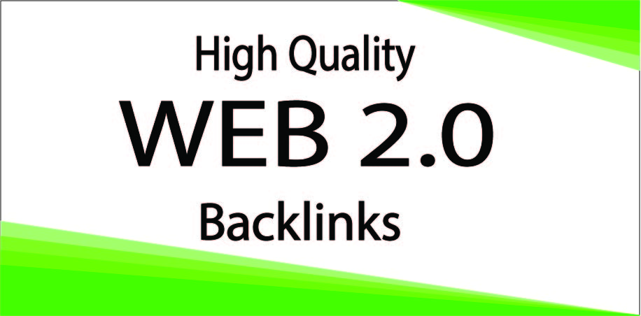 I Will Create 20 Web 2.0 On High-Quality Backlinks