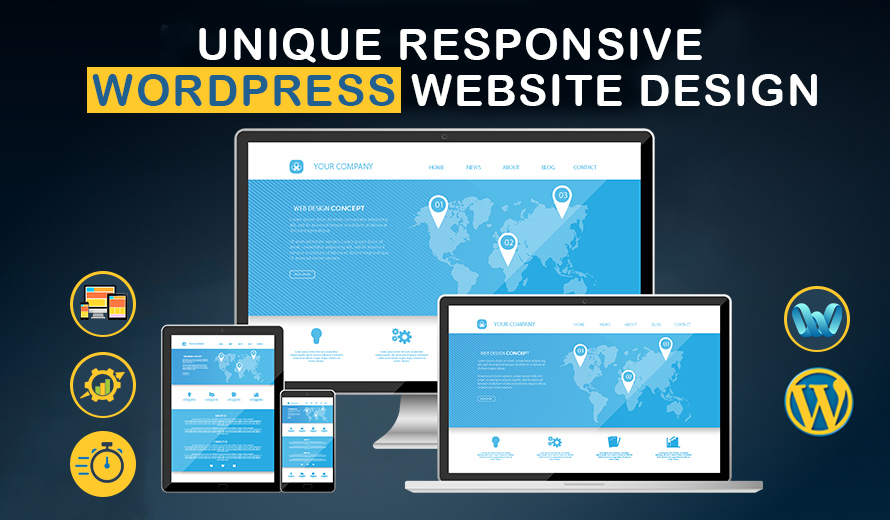 I will create a professional and responsive wordpress website
