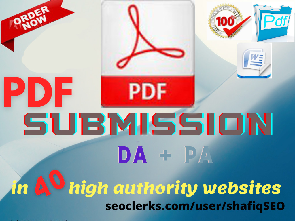 Best 20 PDF Submission to Sharing Websites