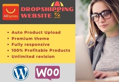 I will develop Aliexpress Drop shipping WordPress store for you