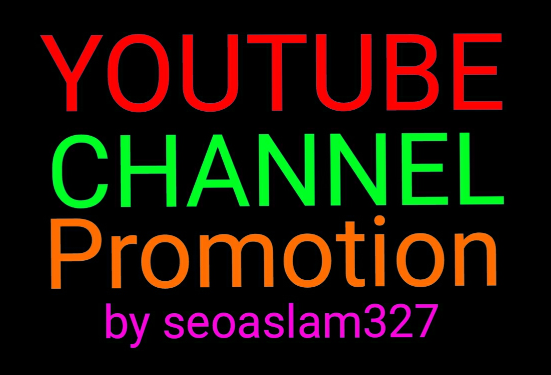 HQ YouTube video promotion social media marketing by seoaslam327