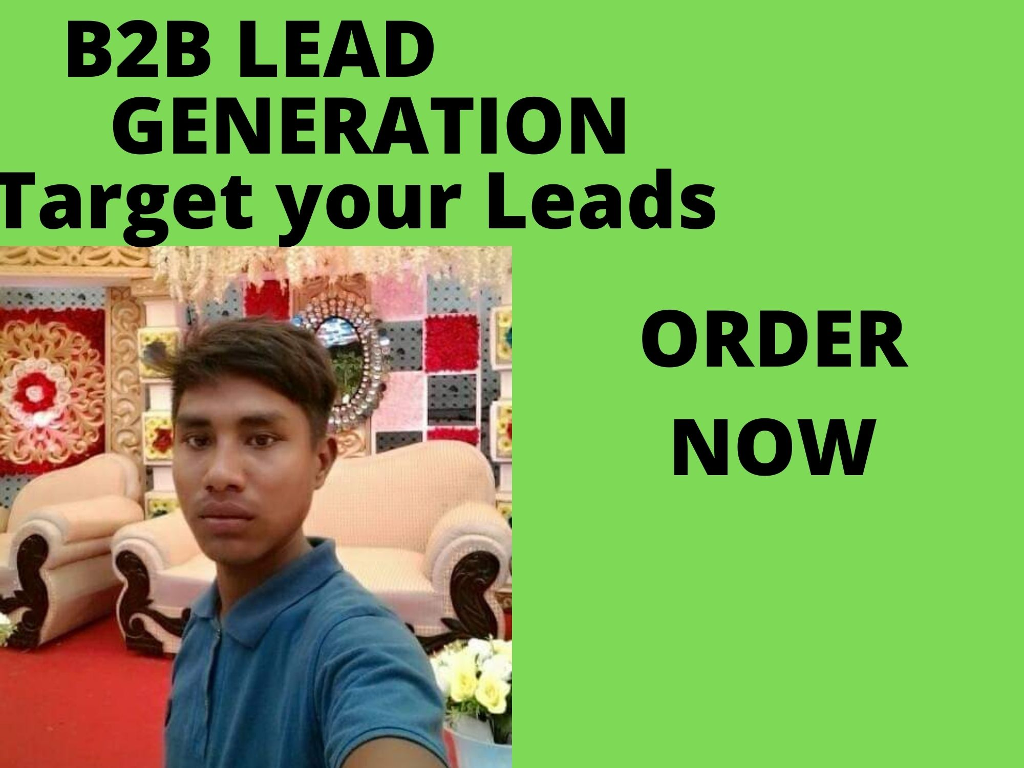 I will do b2b lead generation for your Targeted Niche for 2