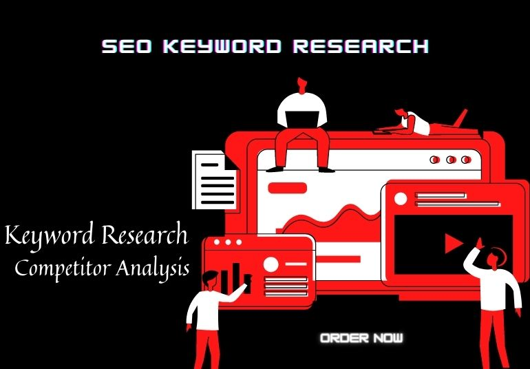 I will do indepth SEO keyword research & competitor analysis