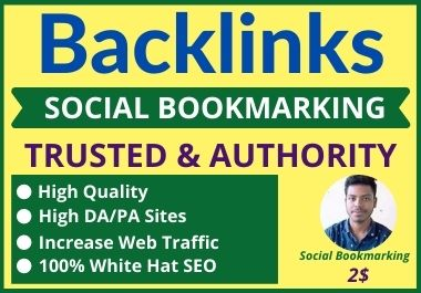 I Will Create 30 SEO Social Bookmarking Backlinks For increase your website rank