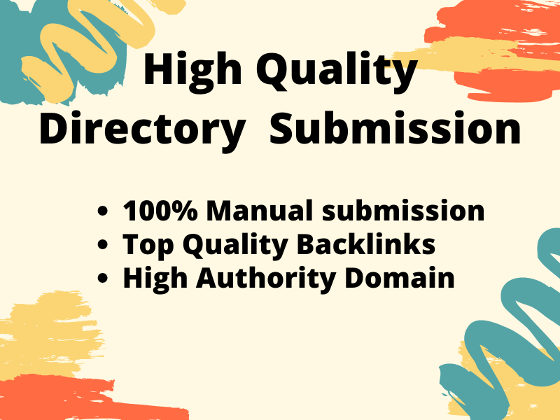I will Provide high authority directory submission up to 200 websites